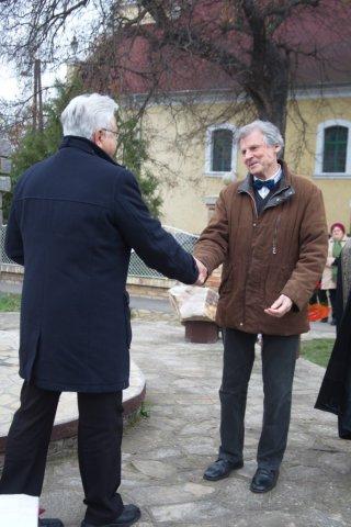 Szobor avatás Tiszanánán 2014.11.22. 2.rész
